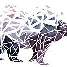 « Geometric Bear » par Threeleaves