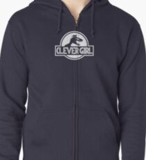 Clever Girl Zipped Hoodie