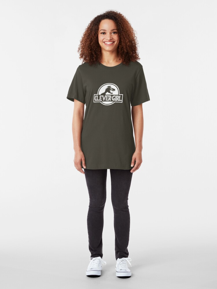 Alternate view of Clever Girl Slim Fit T-Shirt