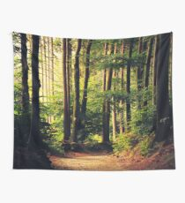 Woods Are Calling Wall Tapestry