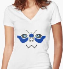 Kawaii Garrus Women's Fitted V-Neck T-Shirt