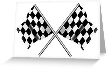 race checkered flag crossed win winner chequered flag racing