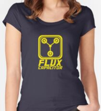 Flux Capacitor - Back to the Future Women's Fitted Scoop T-Shirt