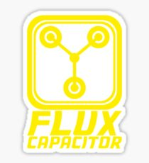 Flux Capacitor - Back to the Future Sticker