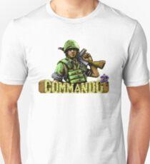 Gaming [C64] - Commando Unisex T-Shirt