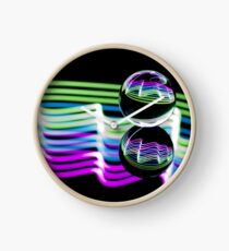 Light through the Crystal Ball Clock