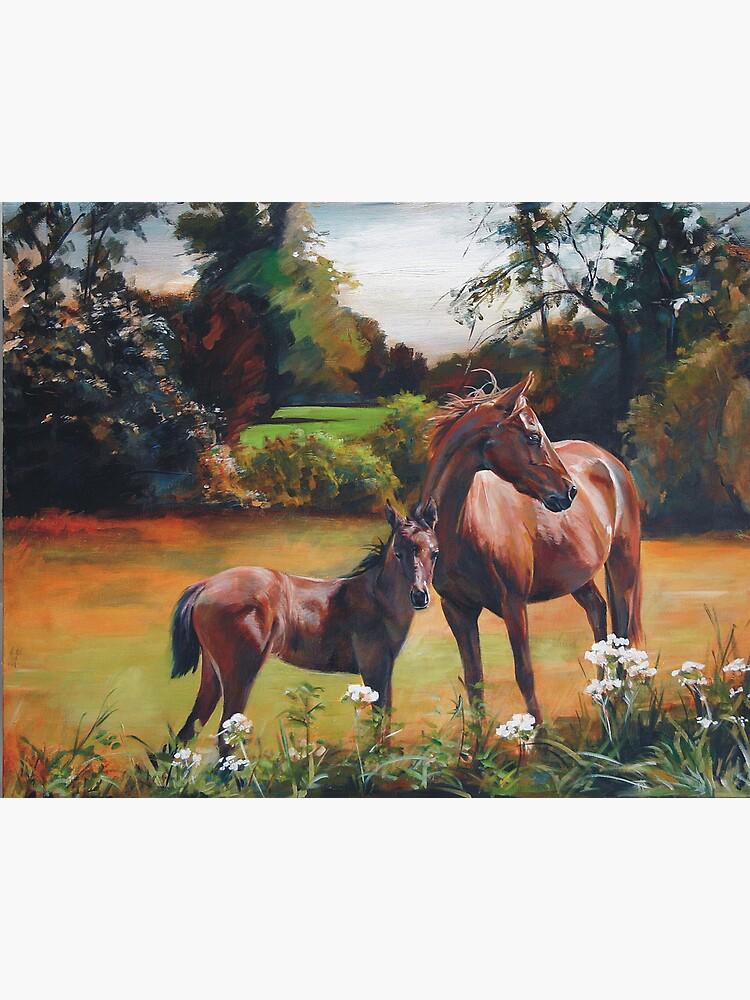 Mum & Foal by melissamyartist