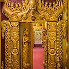 Myanmar. Mandalay. Bo Bo Gyi Nat Shrine. Through the Door. by vadim19