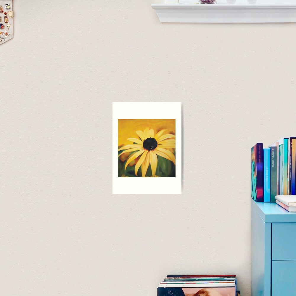 Sunny Daisy Art Print