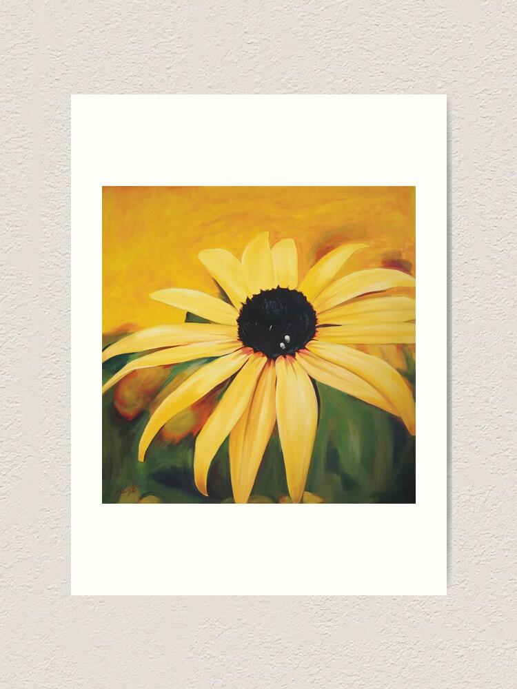 Alternate view of Sunny Daisy Art Print