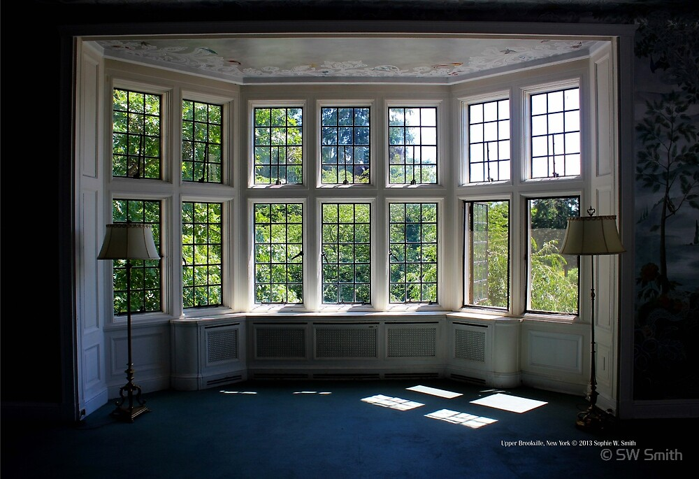 Coe Hall Window | Upper Brookville, New York  by © Sophie W. Smith