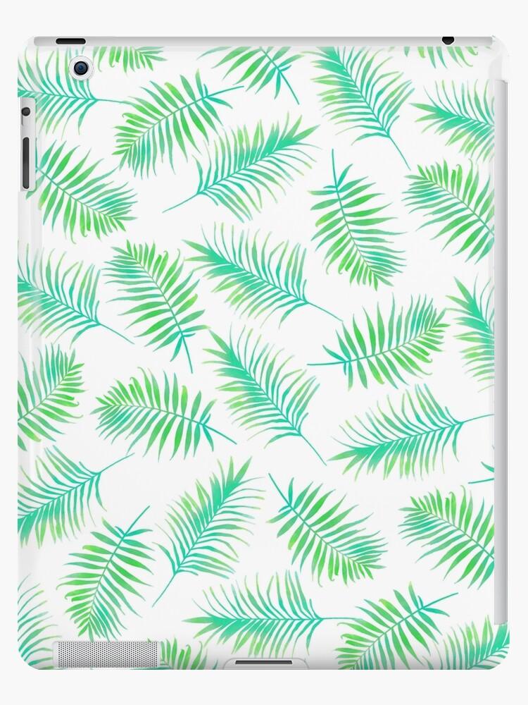 Vinilos y fundas para iPad «Hojas de palma, Impresión tropical ...