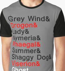Direwolves & Dragons Graphic T-Shirt