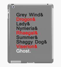Direwolves & Dragons iPad Case/Skin