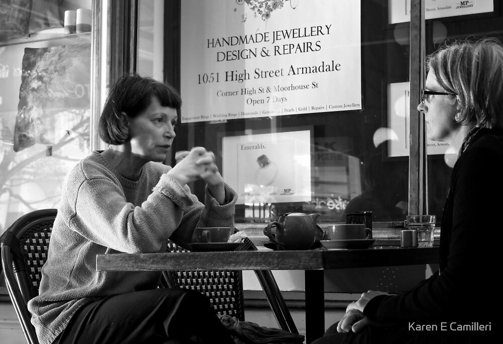 Tea & Conversation by Karen E Camilleri