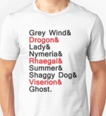 DIREWOLVES & DRAGONS T-Shirt