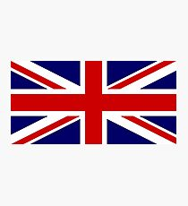Union Jack, British Flag, UK, United Kingdom, Pure & simple, 1:2 Photographic Print