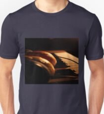 Fruit, Headphones, and Music Unisex T-Shirt