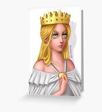 Attack on Titan - Queen Historia Reiss/Krista Lenz Greeting Card