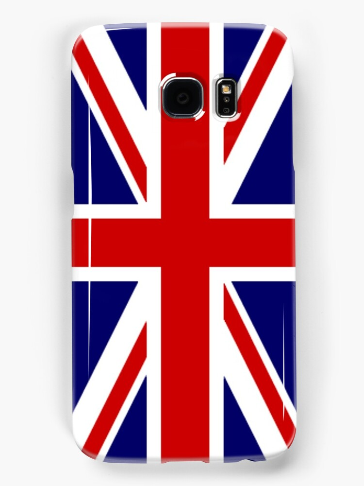 British, Union Jack, PORTRAIT, Flag, 1;2, UK, GB, United Kingdom, Pure & simple  by TOM HILL - Designer