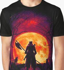 A Blood Moon's Night (Bloodborne) Graphic T-Shirt