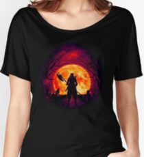 A Blood Moon's Night (Bloodborne) Women's Relaxed Fit T-Shirt