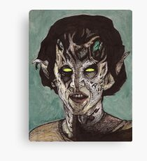 The Dark Age - Eyghon/Jenny - BtVS Canvas Print