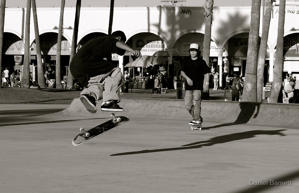 360 Flip- Venice Beach by Daniel Barnett
