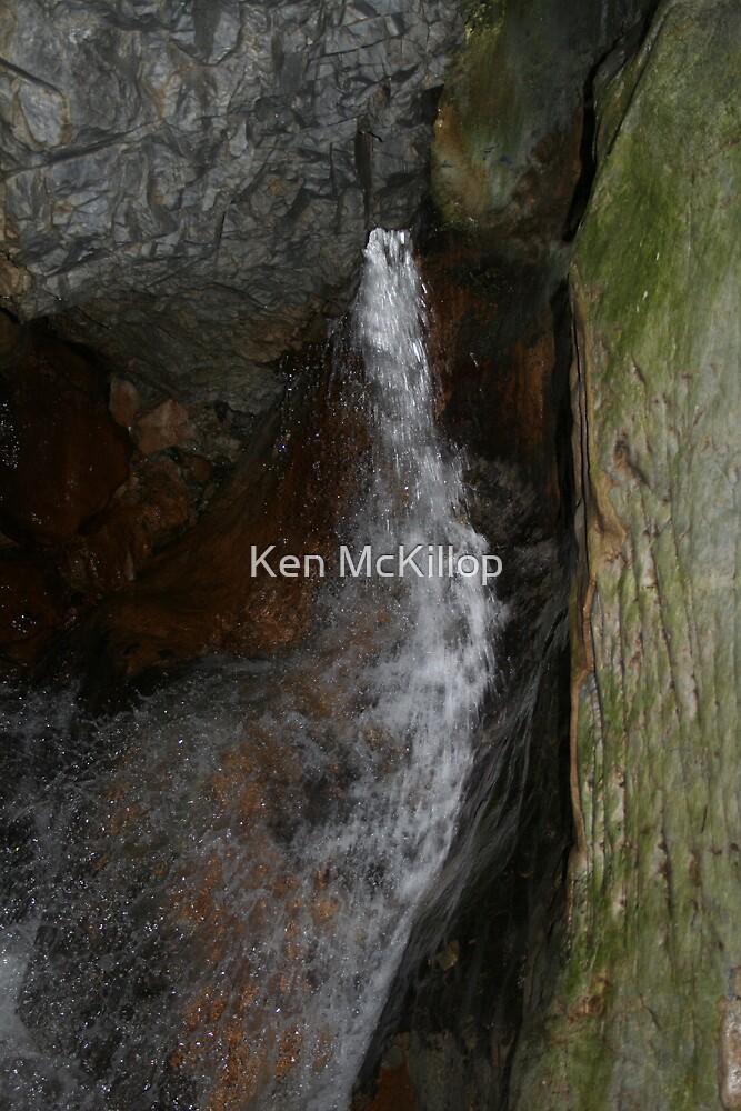 underground stream. by Ken McKillop