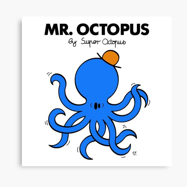MR. OCTOPUS Impression sur toile