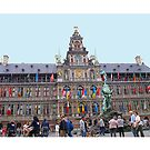Antwerp - Townhall by Gilberte