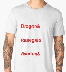 Direwolves & Dragons Men's Premium T-Shirt