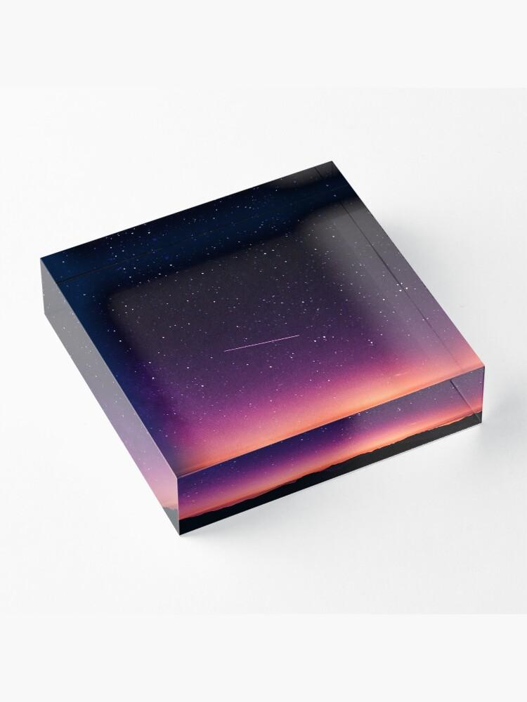 Alternative Ansicht von Für die Sterne schießen Acrylblock