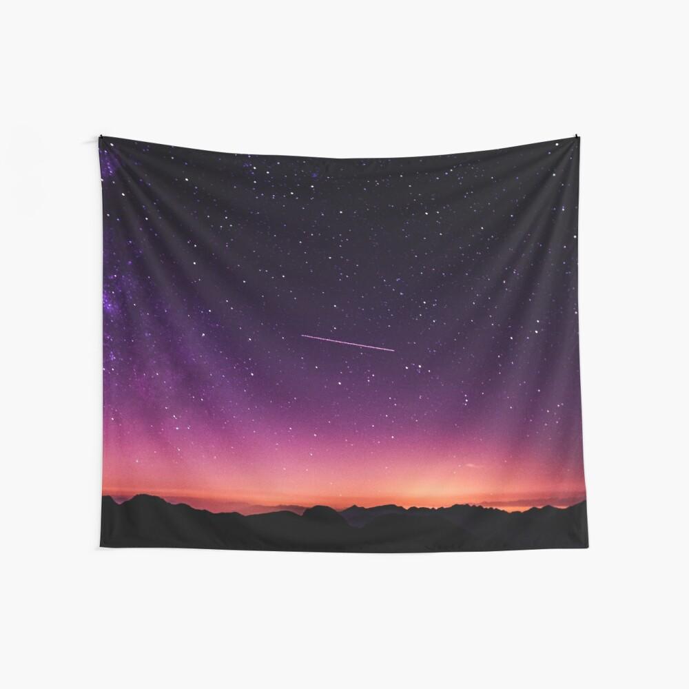 Für die Sterne schießen Wandbehang