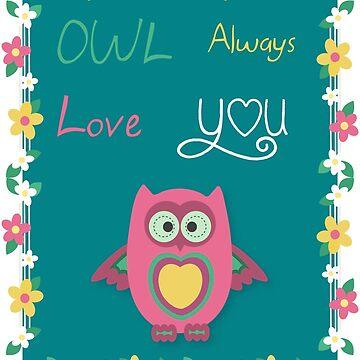 Owl decor  by Lukovka