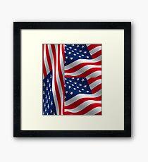 American Flag Patriot  Framed Print