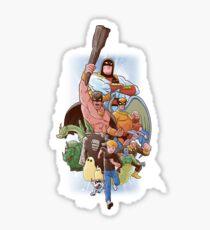 CHILDHOOD HEROES  Sticker