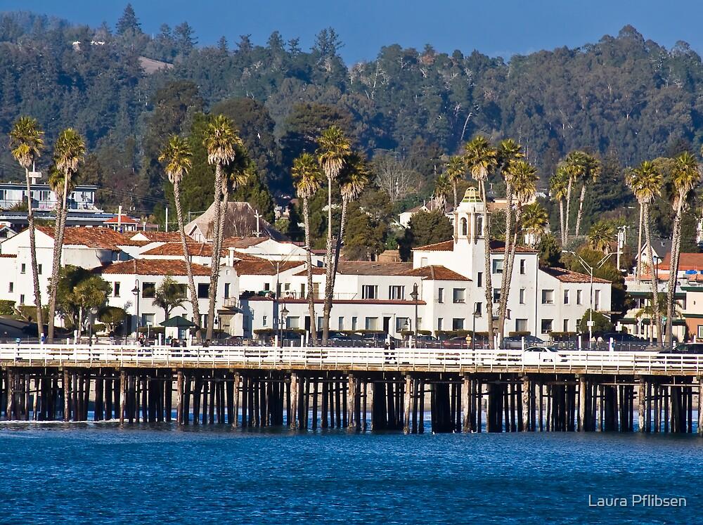 The Wharf in Santa Cruz by Laura Pflibsen