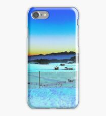 Beautiful Sunset over Austrian Mountains iPhone Case/Skin