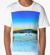 Beautiful Sunset over Austrian Mountains Long T-Shirt