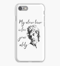 My Alone Time is for Your Safety iPhone Case/Skin