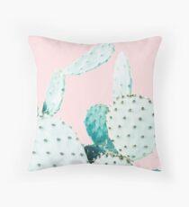 Cacti, Cactus, Cacti print, Cactus art, Desert, Nature, plant, Minimalist, Modern Throw Pillow