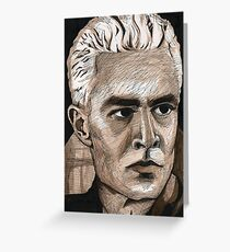 What's My Line, Part Two - Spike - BtVS Greeting Card