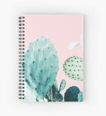 Cacti, Cactus, Cacti print, Cactus art, Desert, Nature, plant, Minimalist, Modern Spiral Notebook