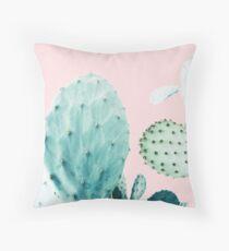 Kakteen, Kaktus, Kakteen drucken, Kaktus Kunst, Wüste, Natur, Pflanze, Minimalist, Modern Kissen