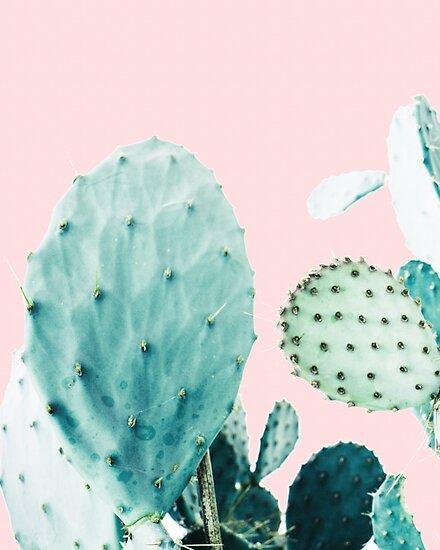 «Cactus, Cactus, Impresión de cactus, Arte de cactus, Desierto, Naturaleza, Planta, Minimalista, Moderno» de juliaemelian