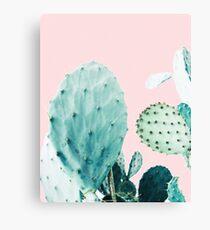 Cacti, Cactus, Cacti print, Cactus art, Desert, Nature, plant, Minimalist, Modern Canvas Print