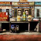Americana - Signs - Feeding time 1936 by Mike  Savad