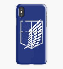 Wings of Freedom blue iPhone Case/Skin