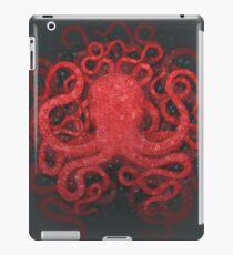 Red Octopus iPad Case/Skin
